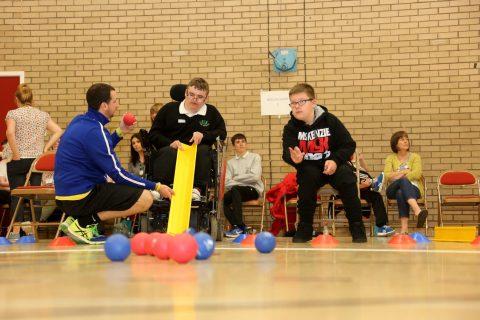 Ayrshire Sportsability Boccia