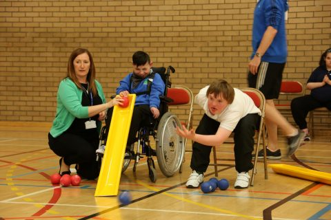 Ayrshire Sportsability Ability Games Boccia