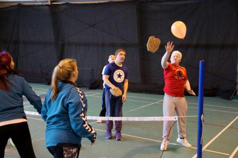 Ayrshire Sportsability at Prestwick Indoor Tennis Club