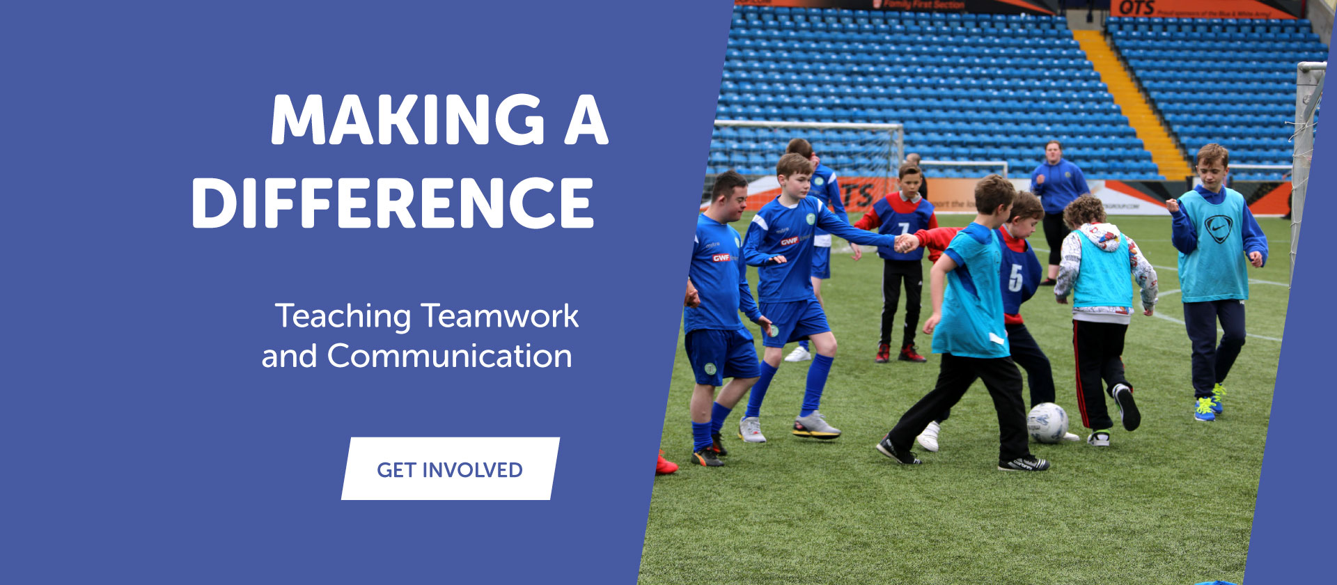 Ayrshire Sportsability teamwork and communication