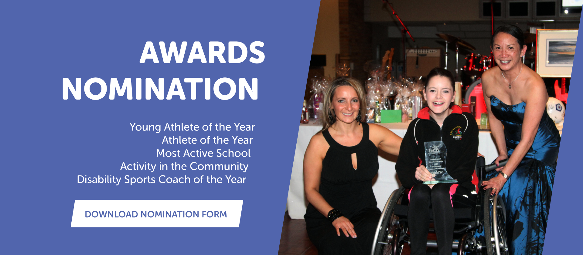 Ayrshire Sportsability Awards Nomination